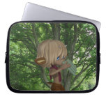 Piping Satyr Laptop Sleeve