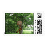 Piping Satyr Postage