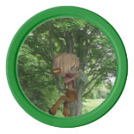 Piping Satyr Set Of Poker Chips