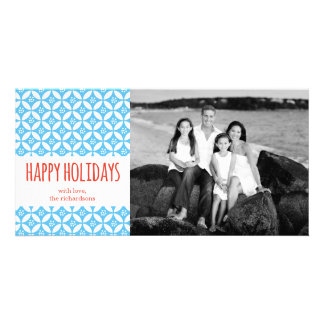PiPo Press Happy Holidays Personalized Photo Card