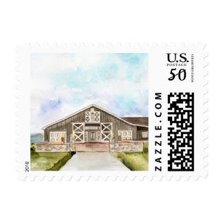 Pippen Hill Watercolor Postage