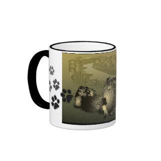 Pippin and Seren Sheltie Coffee Mug
