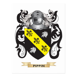 Pippin Coat of Arms (Family Crest) Postcard