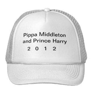Pipppa y príncipe Harry Hat Gorros