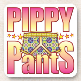 Pippy Flowery Pants Coasters
