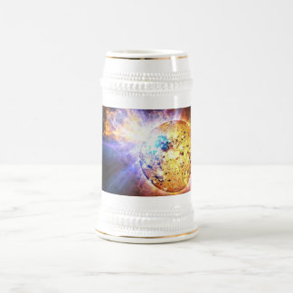 Pipsqueak Star Unleashes giant flare NASA Beer Stein