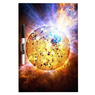 Pipsqueak Star Unleashes giant Flare NASA Dry-Erase Board