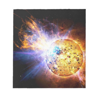 Pipsqueak Star Unleashes giant Flare NASA Notepad