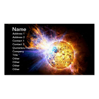 Pipsqueak Star Unleashes Monster Flare Double-Sided Standard Business Cards (Pack Of 100)