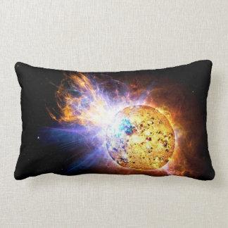 Pipsqueak Star Unleashes Monster Flare Lumbar Pillow