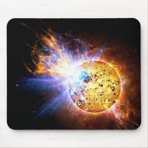 Pipsqueak Star Unleashes Monster Flare Mouse Pad
