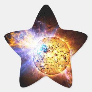 Pipsqueak Star Unleashes Monster Flare Star Sticker