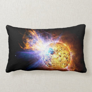 Pipsqueak Star Unleashes Monster Flare Throw Pillow