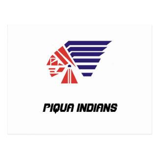 Piqua Youth Football Indians Spirit Wear Postcard