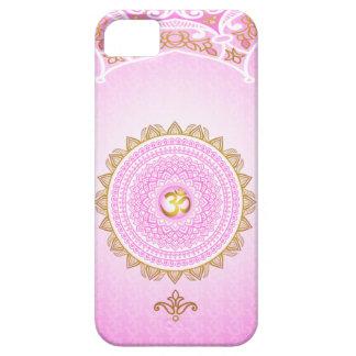 Pique 7mo Chakra, caja del teléfono de Sahasrana iPhone 5 Carcasas