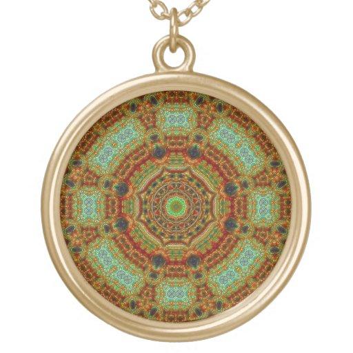 """""""Pique-a-Delhi"""" Mandala Pendant"""