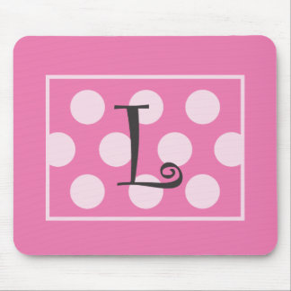 """Pique con los puntos Mouepad """"L """" Mouse Pad"""