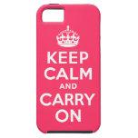 Pique guardan calma y continúan iPhone 5 protector