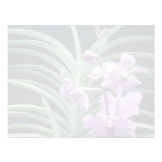 Pique las quincuagésimas flores de la belleza del membrete a diseño