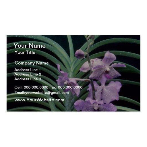 Pique las quincuagésimas flores de la belleza del  tarjeta personal