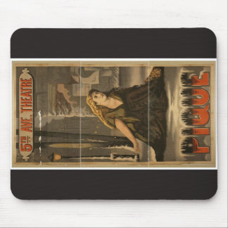 Pique Vintage Theater Mouse Pad