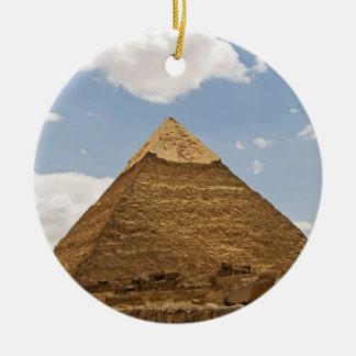 Pirámide Adorno Navideño Redondo De Cerámica