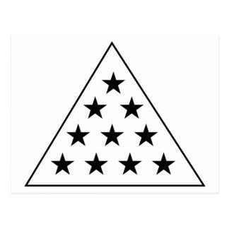 Pirámide B de la sigma pi+W Postal