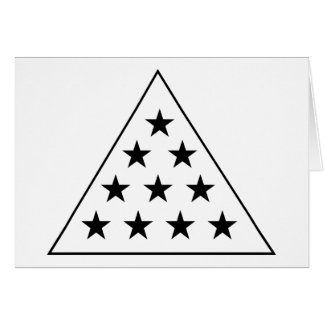 Pirámide B de la sigma pi+W Tarjeta Pequeña