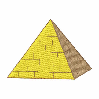 Pirámide Camiseta Polo Bordada