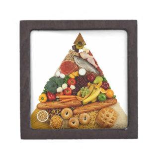 Pirámide de alimentación cajas de regalo de calidad