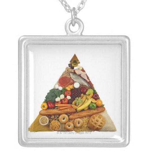 Pirámide de alimentación colgante personalizado