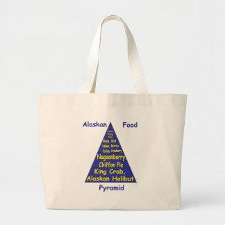 Pirámide de alimentación de Alaska Bolsa Tela Grande