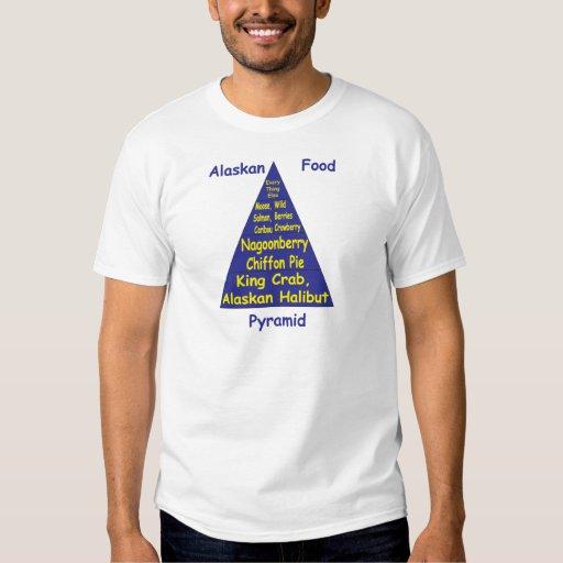 Pirámide de alimentación de Alaska Camisas