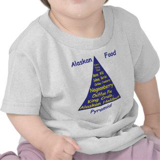 Pirámide de alimentación de Alaska Camiseta