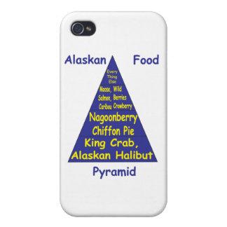 Pirámide de alimentación de Alaska iPhone 4/4S Funda