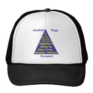 Pirámide de alimentación de Alaska Gorras De Camionero