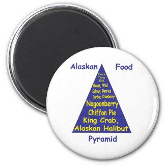Pirámide de alimentación de Alaska Imán Para Frigorifico