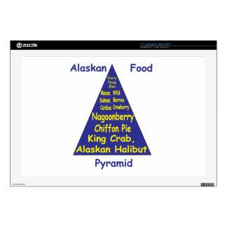 Pirámide de alimentación de Alaska Calcomanías Para Portátiles