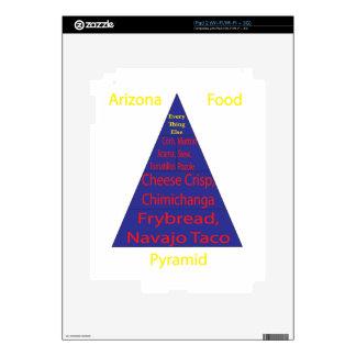 Pirámide de alimentación de Arizona iPad 2 Skin