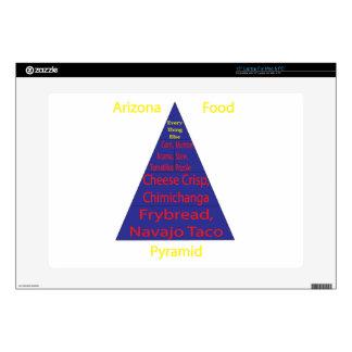 Pirámide de alimentación de Arizona Calcomanías Para 38,1cm Portátiles