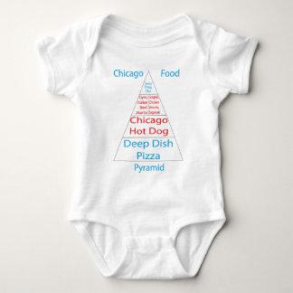 Pirámide de alimentación de Chicago Body Para Bebé