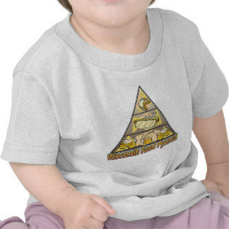 Pirámide de alimentación de Wisconsin Camisetas