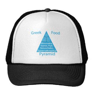 Pirámide de alimentación griega gorras