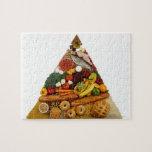 Pirámide de alimentación puzzle