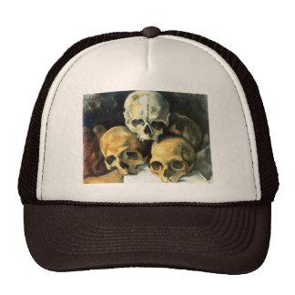 Pirámide de Cezanne del gorra de los cráneos