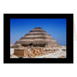 Pirámide de Djoser Tarjetón
