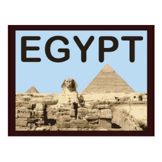 Pirámide de Egipto de Khafre Postal