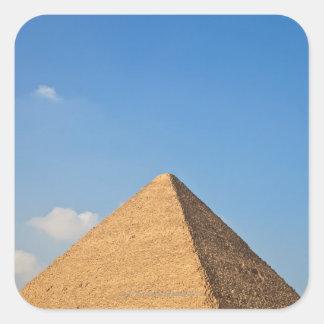 Pirámide de Khufu Calcomania Cuadradas Personalizada