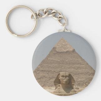 pirámide de la esfinge llavero personalizado