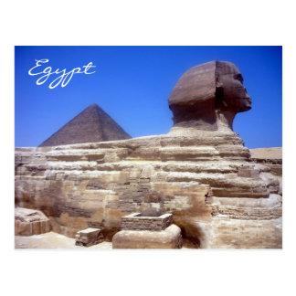 pirámide de la esfinge postales
